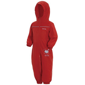 Regatta Puddle IV Overall Kinder pepper